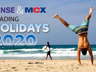 NSE and MCX Trading Holidays 2020