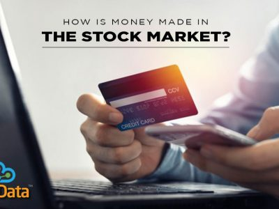 How is money made in the stock market?