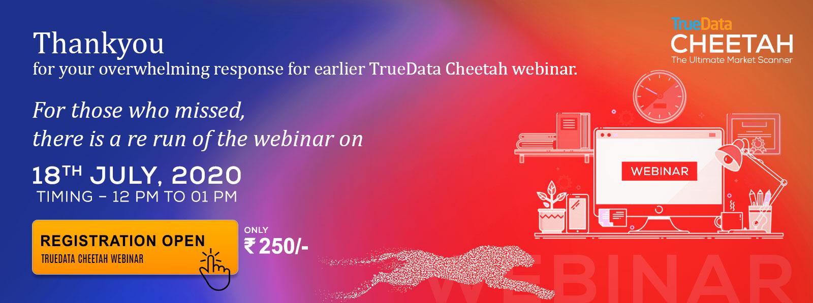 Webinar TrueData Cheetah